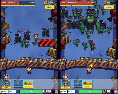 zombie idle defense apk