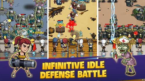 zombie war: idle defense game apk