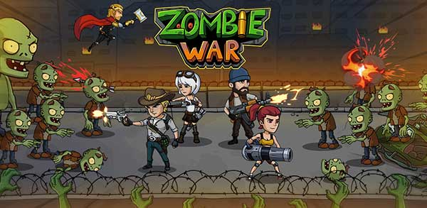 zombie war: idle defense game mod